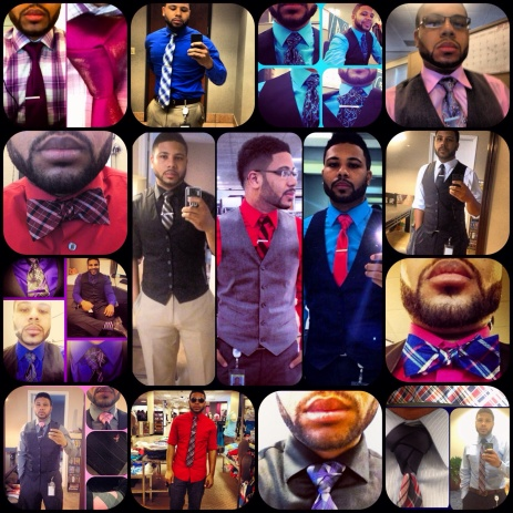 Some tie showcases over the past year