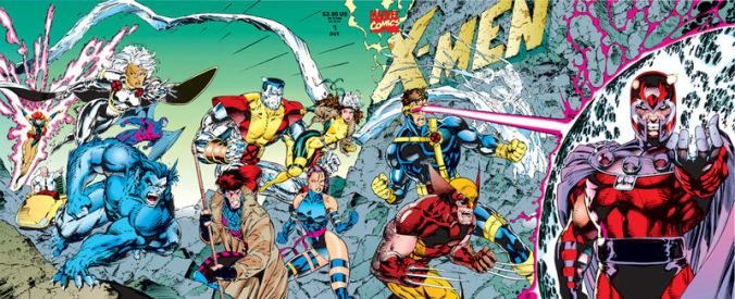 Yes, That's  Jim Lee X-Men art